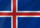 Iceland flag - Link to visa information